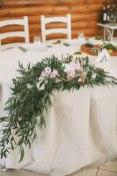 Композиция из цветов на свадьбу фото