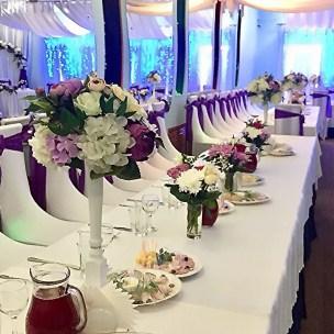 Цвета оформления свадебного зала