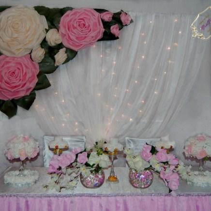Ростовые цветы для украшения свадьбы Долгопрудный