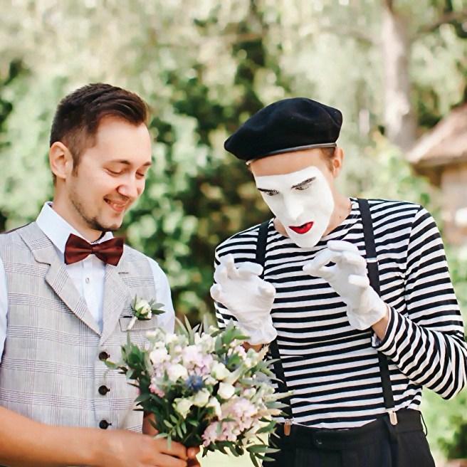 Организация встречи гостей на свадьбе