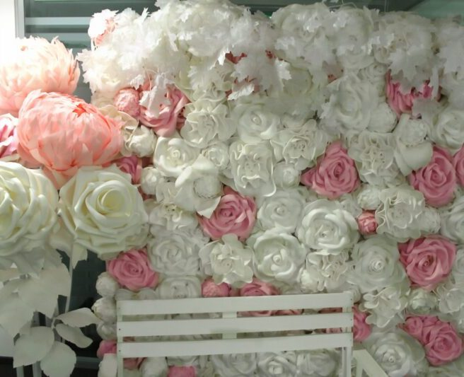 Изолон цветы розы