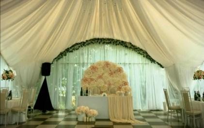 Оформление свадьбы в шатре под ключ