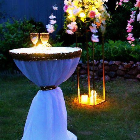 Круглая свадебная арка в аренду