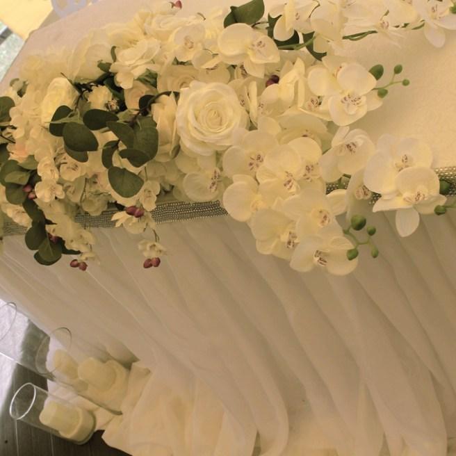Цветы на стол на свадьбу