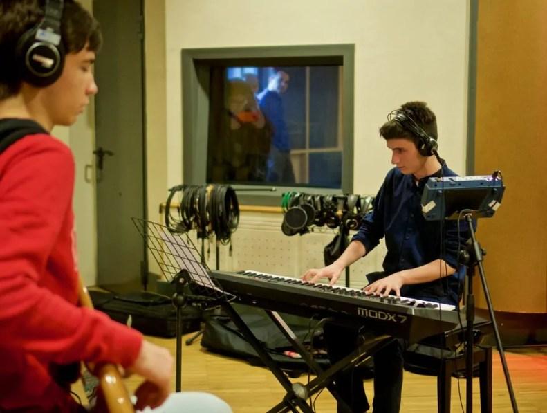 Polinote-in studio di registrazione 41