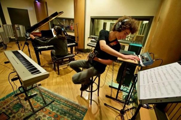 Polinote-in studio di registrazione 7
