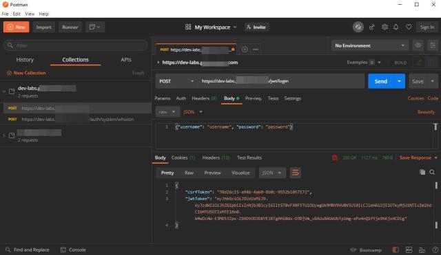 利用 Postman 來測試 JWT (JSON Web Token)