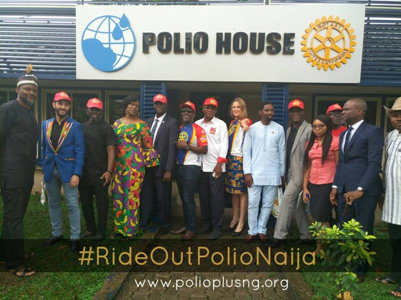 Cycology Riding Club partners with Polio Plus Nigeria in the campaign to END POLIO in Nigeria