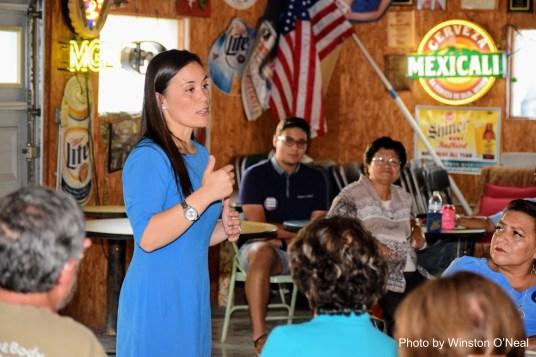 20180821 Gina Ortiz-Jones in San Antonio, TX 10
