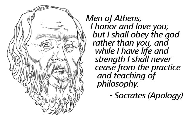 A discussion of the philosophies of socrates callicles and aquinos