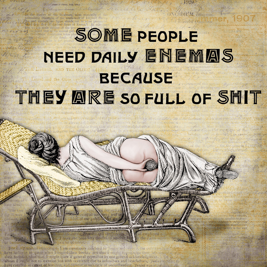 Daily enema