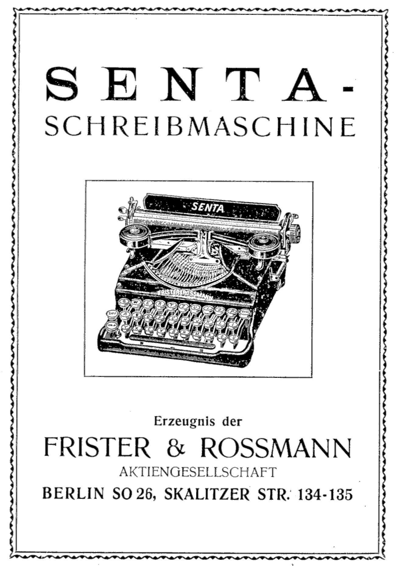 Senta Frister & Rossmann