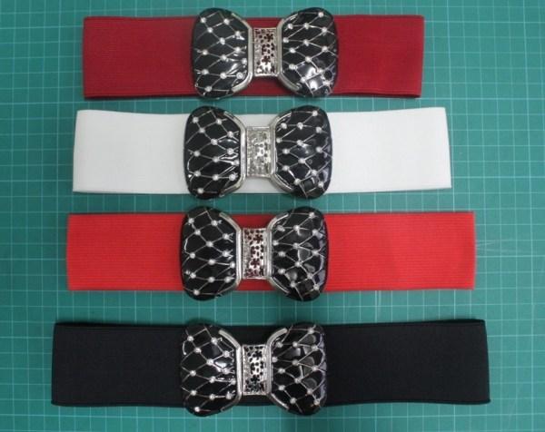 Zwyczaj kolor 5cm elastyczne pasy pasy tkaniny dla kobiet ...