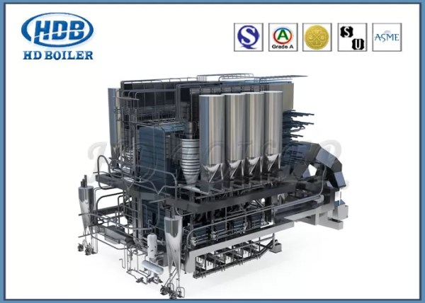 Circulating Fluidized Bed CFB Boiler Vertical Industrial ...