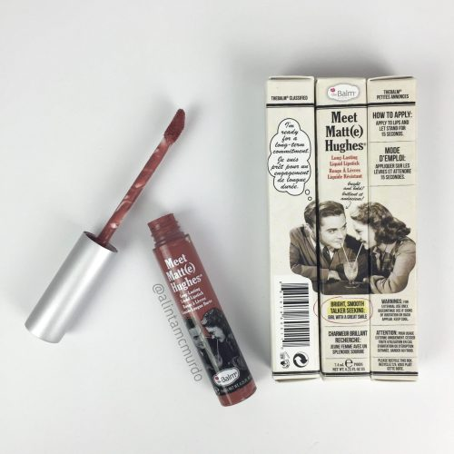The Balm Meet Matte Hughes Liquid Lipstick review and swatches - Polish and Paws