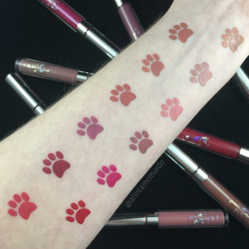 Colourpop Cosmetics Ultra Satin Lip swatches and review - Magic Wand, Echo Park, Littlestitious, Alyssa, Spritz, November, Dopey, The Rabbit, Lyin' King, London Fog and Brooklyn - Polish and Paws