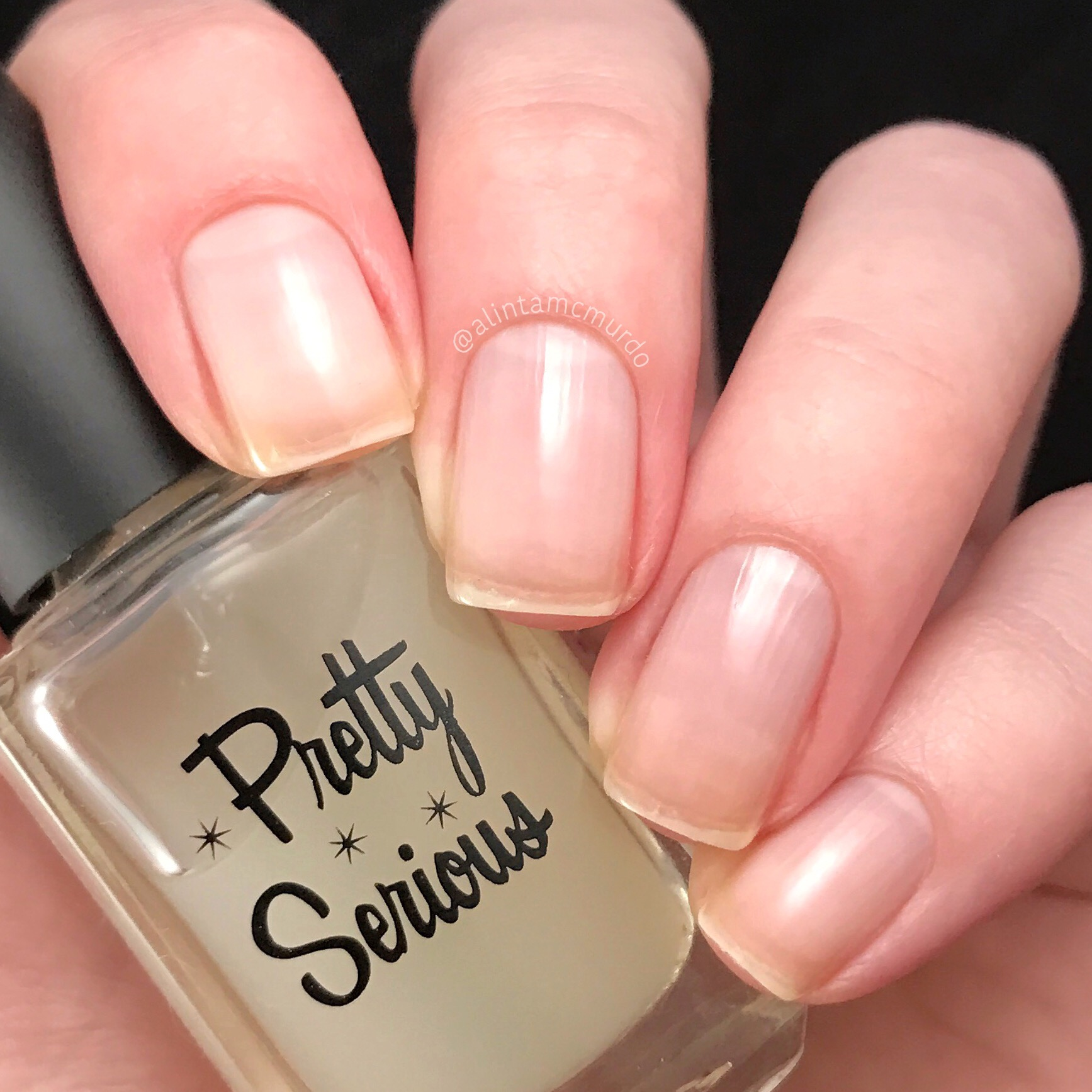 Pretty Serious Rock On and Harden Up Review - Polish And Paws