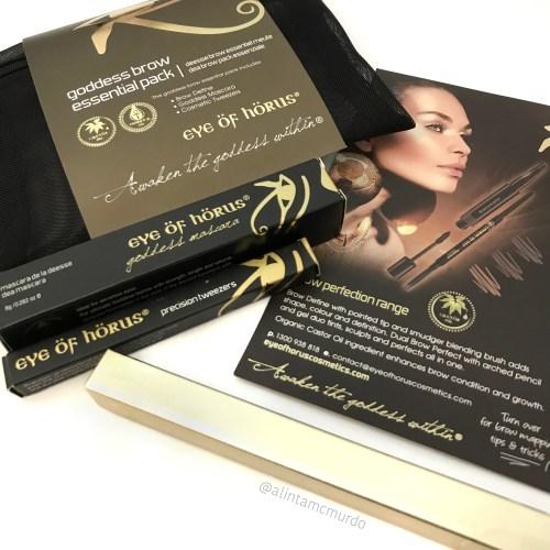 Eye Of Horus Cosmetics Goddess Brow Essentials Pack