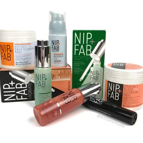 Nip + Fab cruelty free skincare