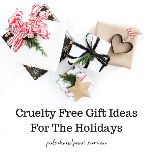 Cruelty free gift ideas for the holidays