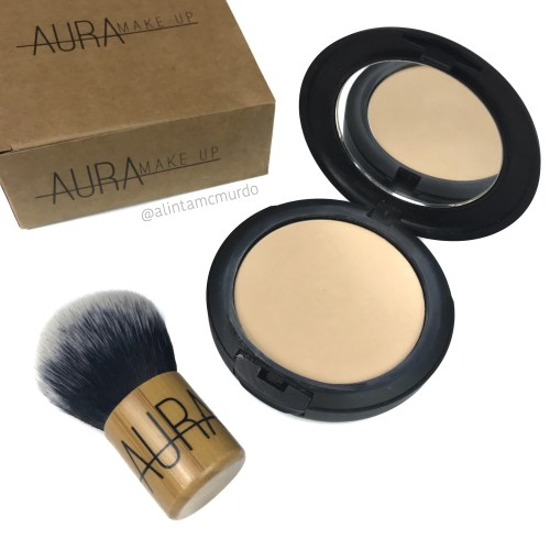 Aura Makeup Evolved Pressed Pressed Mineral Foundation