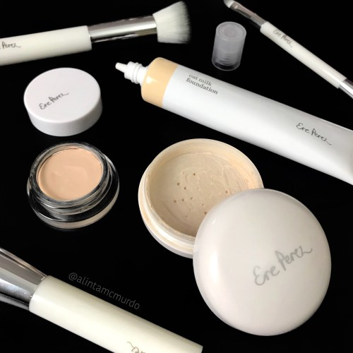 Ere Perez foundation, concealer and powder
