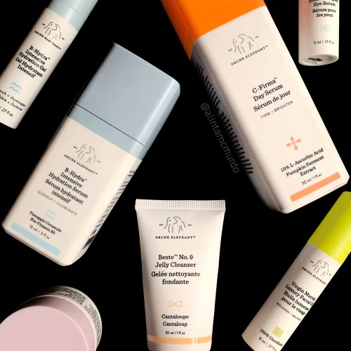 Cruelty free skin care favourites from 2018 - Drunk Elephant skin care products - polish and paws blog