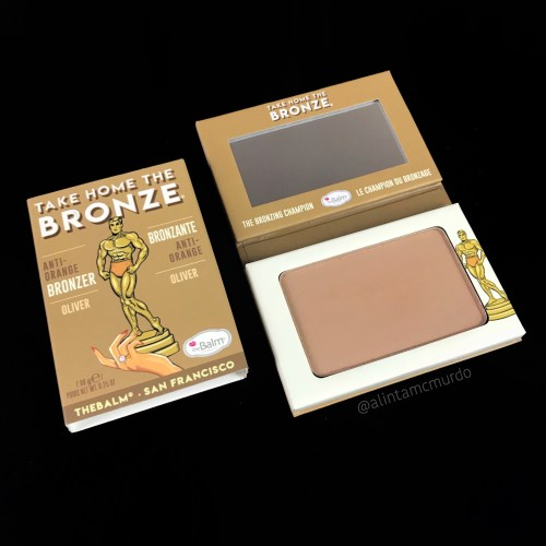 2018 cruelty free beauty favourites - theBalm Take Home The Bronze Oliver Bronzer - polish and paws blog