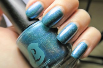Shake a Teal Feather by Bluebird Lacquer