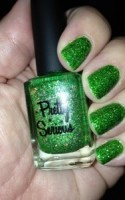 Liquid Leprechaun mani for St. Paddy's Day