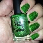Liquid Leprechaun mani for St. Paddy's Day