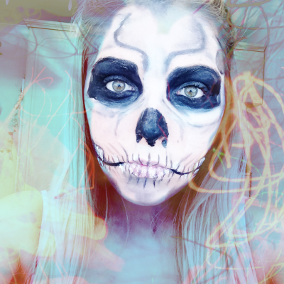 halloween skeleton polished couture