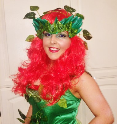 OOTD halloween poison ivy polished couture
