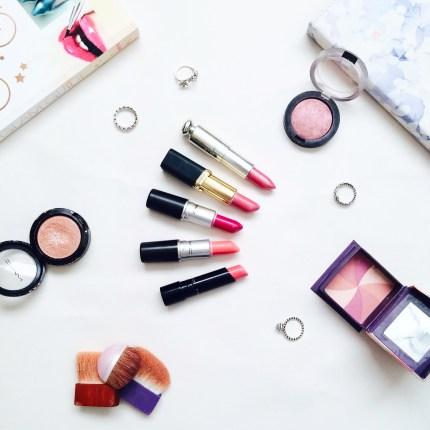 pretty in pink lips