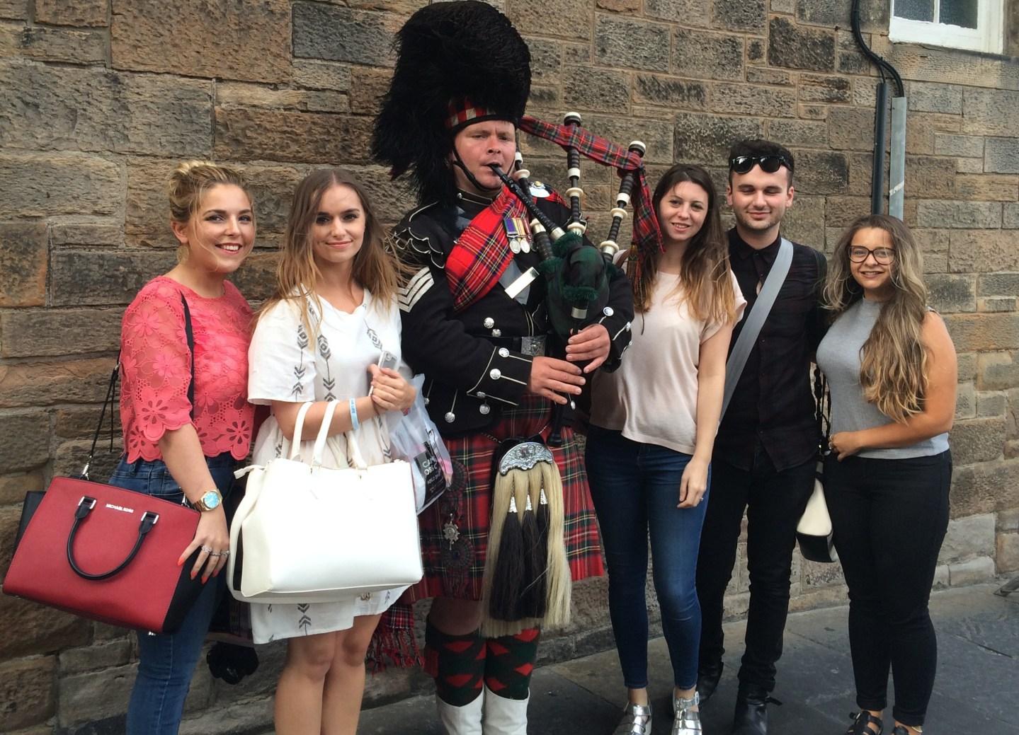 Edinburgh Napier – Day 3