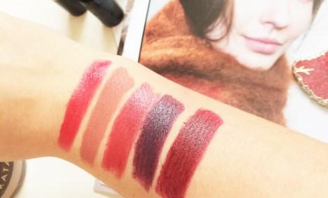 My top 5 Lipsticks