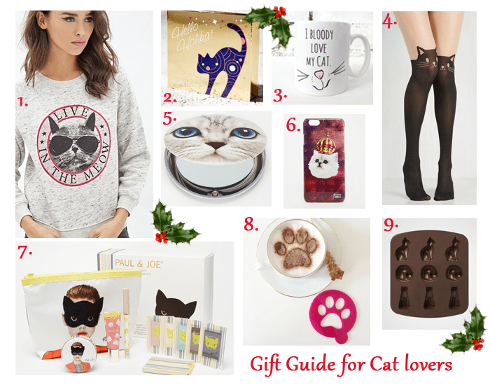 Festive Week | Gift guide for Cat lovers