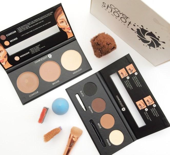 Covershoot Cosmetics | Contour & Brow Kits