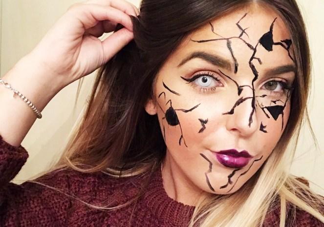 Halloween 16   Cracked Doll