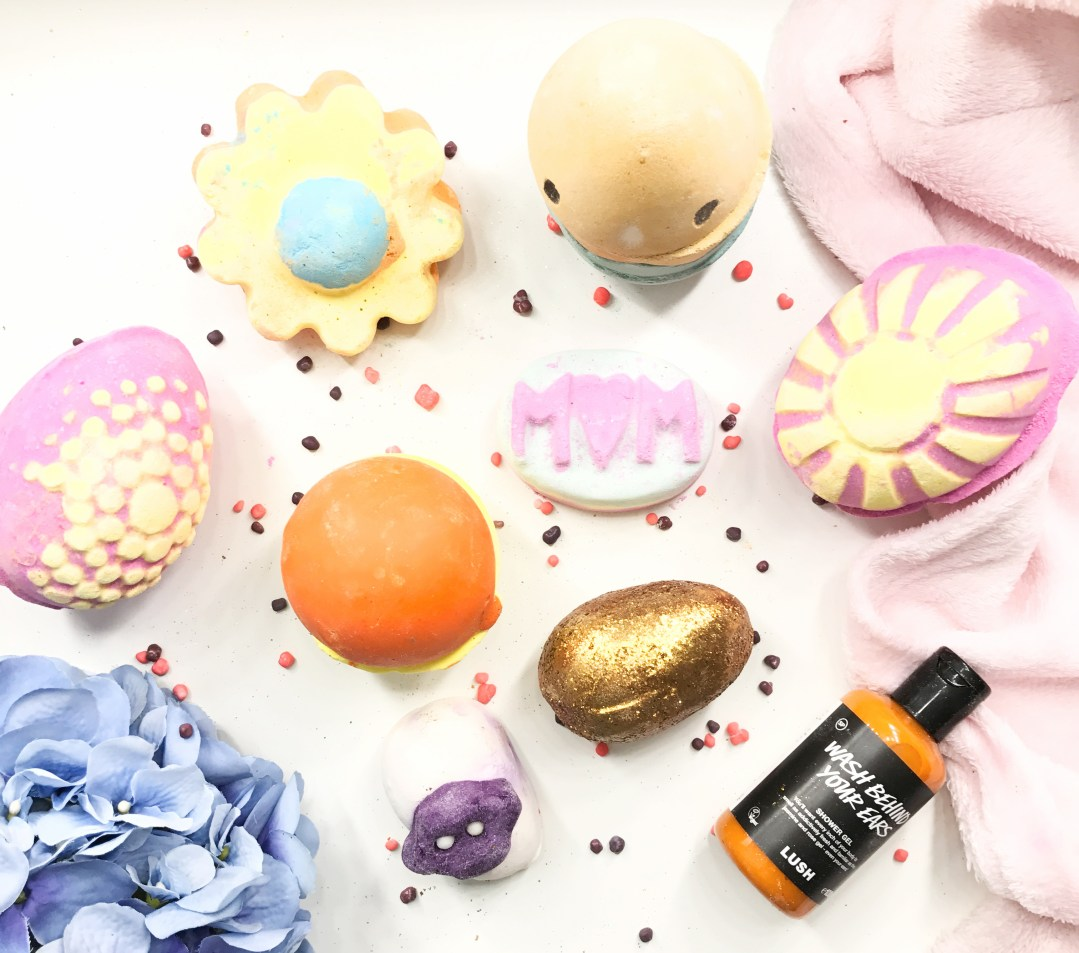 Lush 2017 Easter + Mothers Day Collection