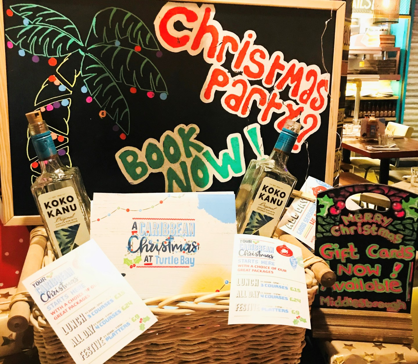 Spice up Christmas with turtle bay!