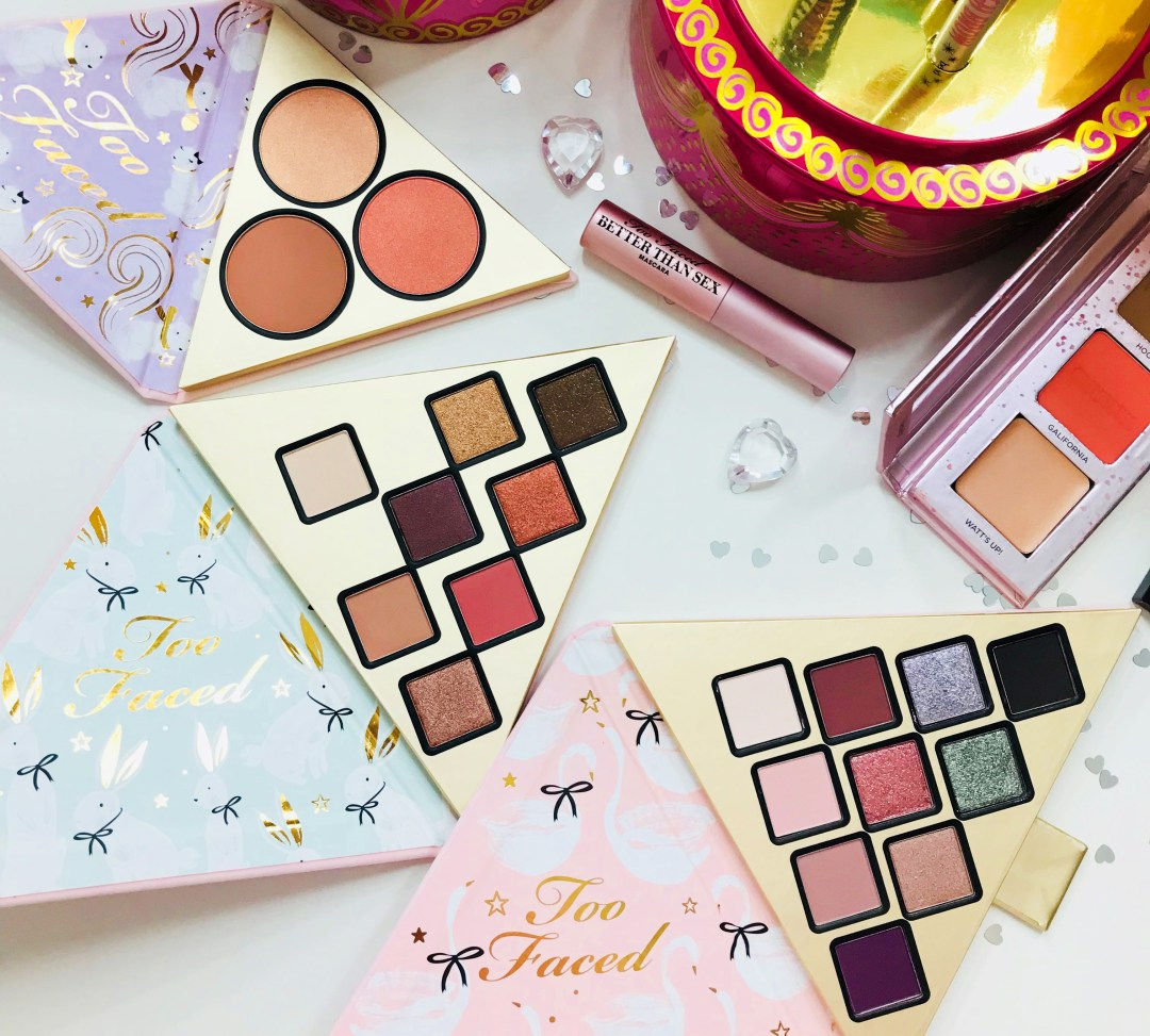 Too faced under the Christmas tree
