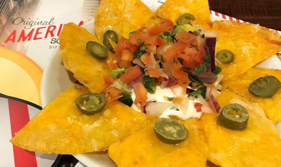 TGI Fridays nachos