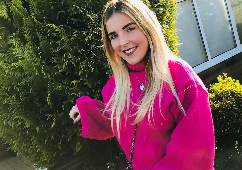 pink jumper femme luxe