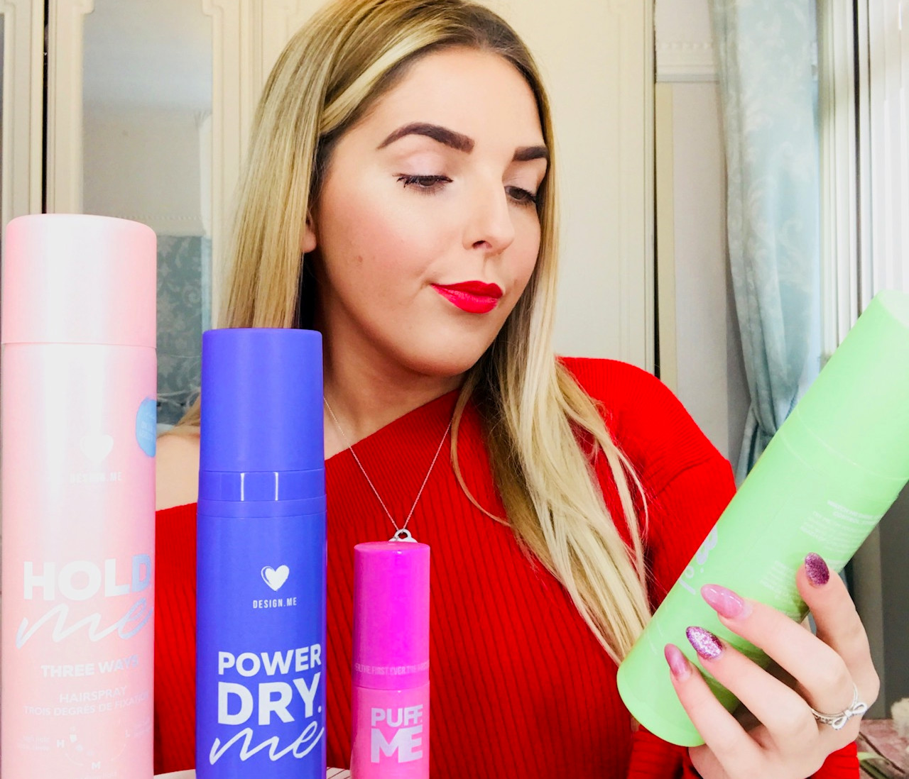 haircare routine with design me