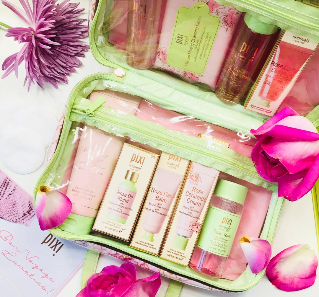 Rose infused skincare by Pixi Beauty