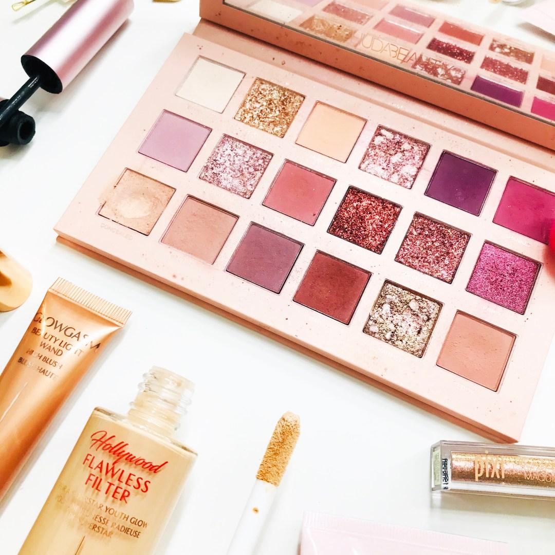 huda nude eyeshadow palette