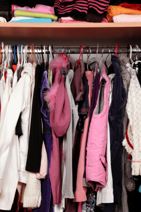Why having too many clothes in your wardrobe is actually giving you bad style cover image