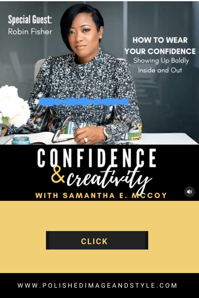 Confidence & Creativity with Samantha McCoy Special Guest: Robin Fisher
