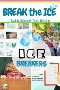 Back to School Icebreaker Idea